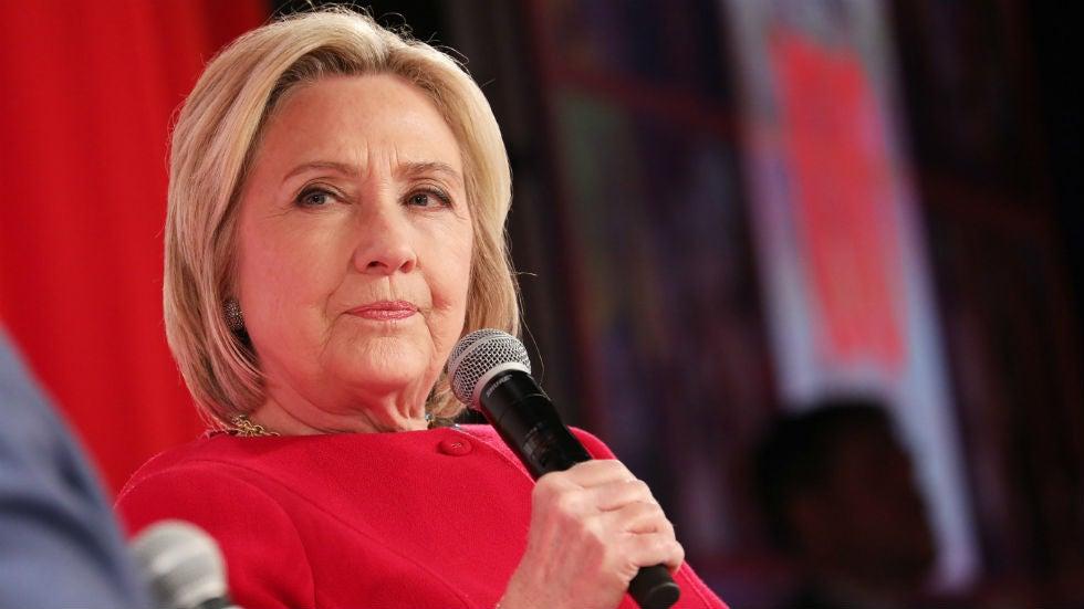 Hillary Clinton: Republicans call Trump election 'joke' 'no backbone'