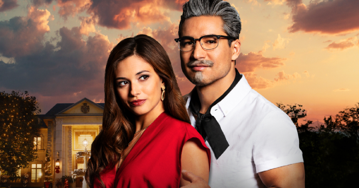 Mario Lopez plays the sexy Colonel Sanders in the movie Lifetime