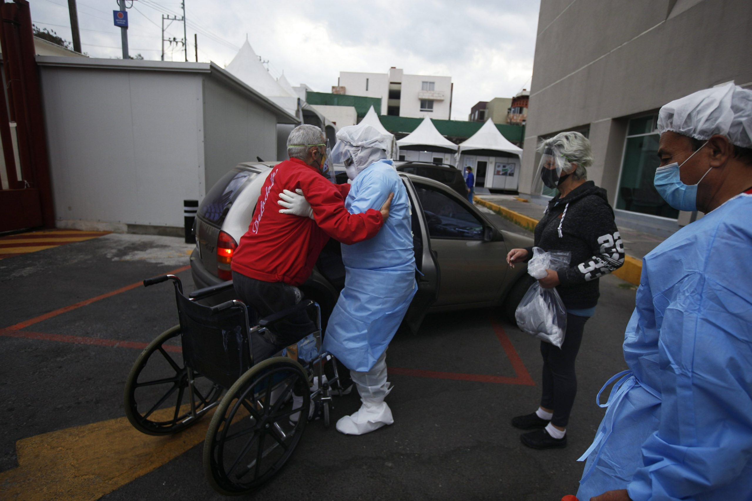 Mexico City hospitals are filled, but so are the streets