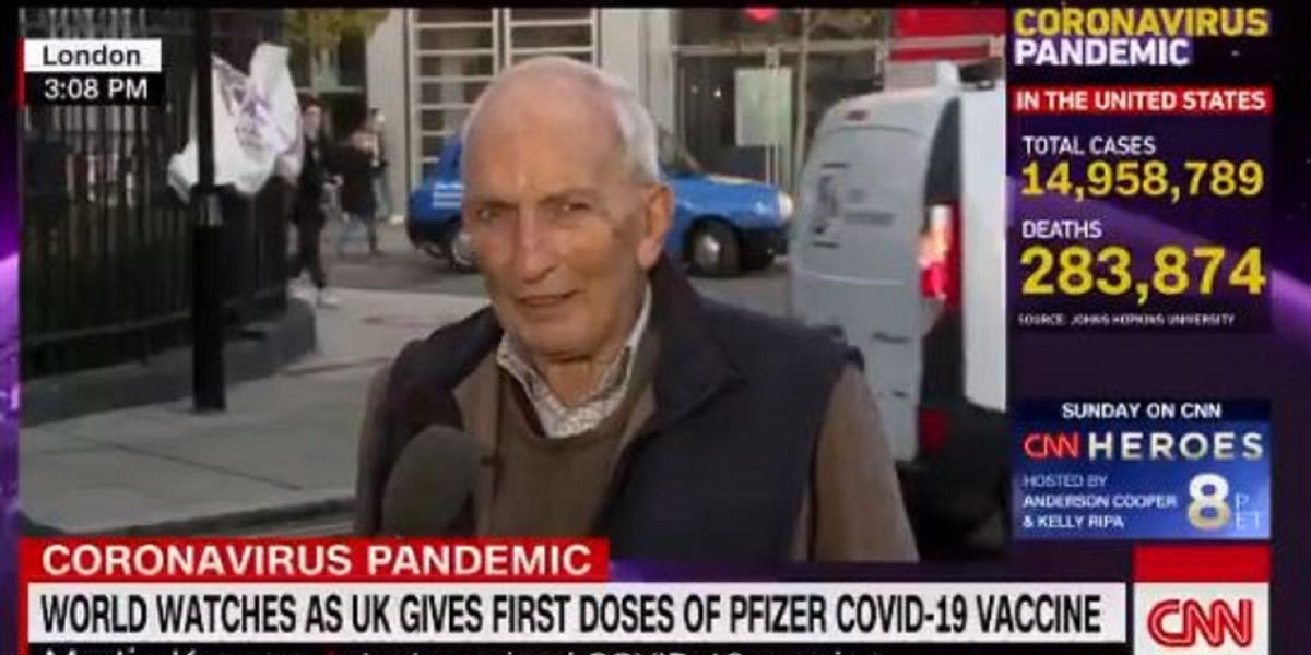 'No point now': 91-year-old COVID-19 vaccine goes viral in interview describing experience