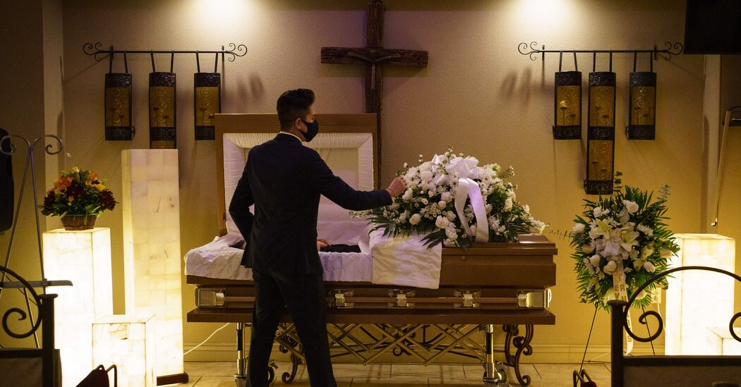 'Nump' and 'Heart Broken,' America Faces Virus Deaths