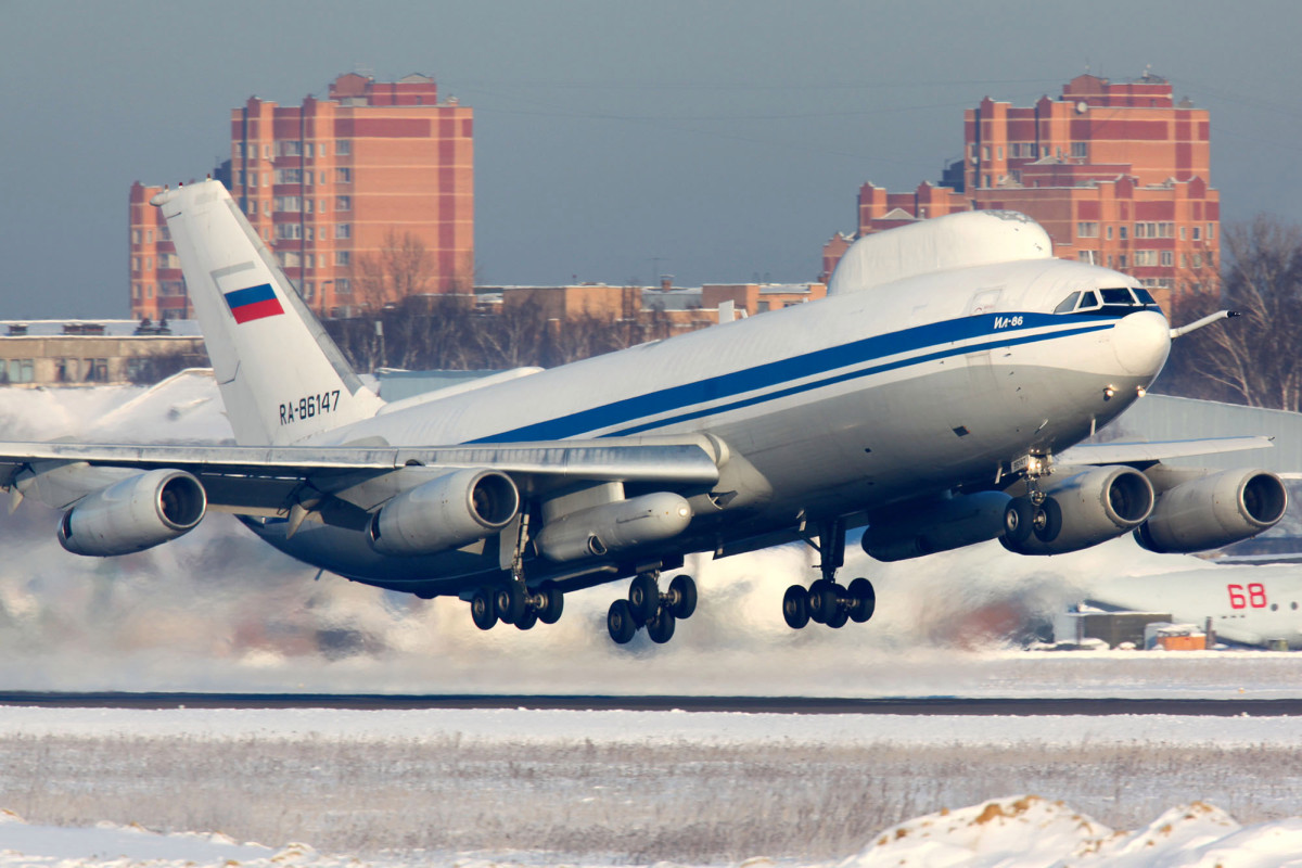 Putin's 'Doomsday plane' was broken into and equipment looted