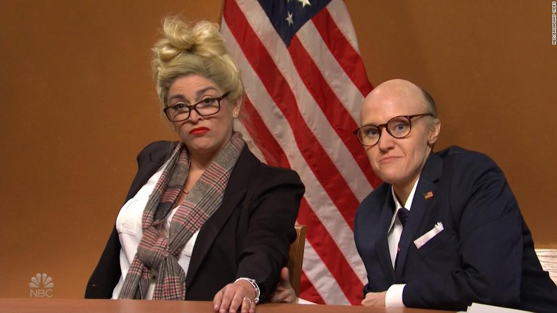 'SNL' is contesting the election with 'Rudy Giuliani' and his witnesses