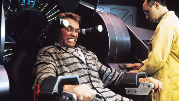 Paul Verhoeven's classic Total Recall can be seen on Veronica on Saturday