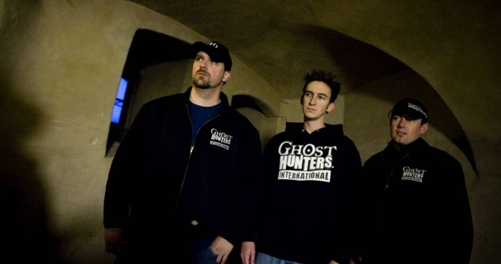 The moment 'Ghost Hunters International' arrived in the Netherlands