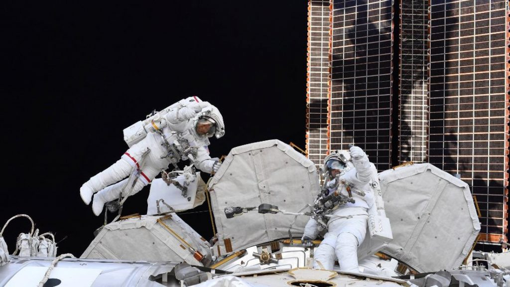 Astronauts prepare for two next space flights