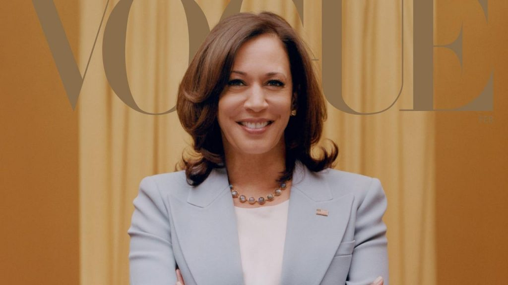 After the review, Vogue makes a new edition cover with Kamala Harris |  NOW