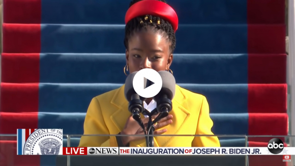 Amanda Gorman impresses at Joe Biden's inauguration with poem