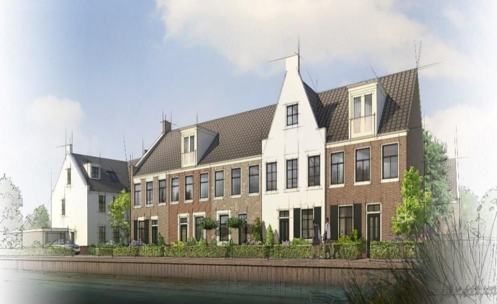 Construction of 16 houses on Koningsspil (former DEK site) is about to start