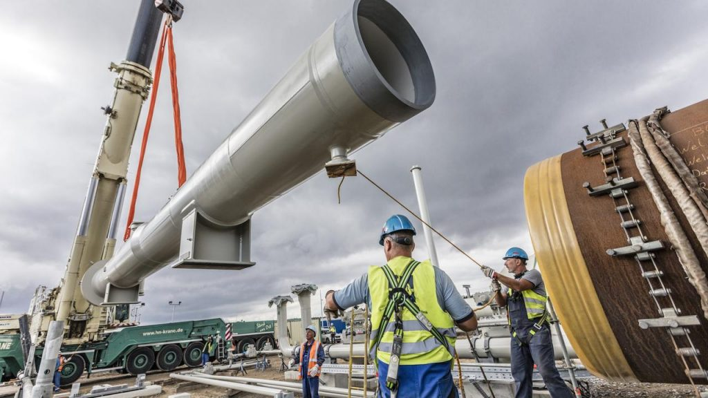 Controversial gas pipeline construction from Russia to Germany may continue |  Now