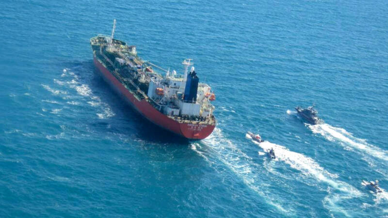 'Iran shows muscle' as it hijacks tanker and ramps up nuclear program