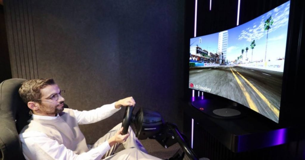 LG Display Unveils Large, Flexible Oil Screen |  Technology