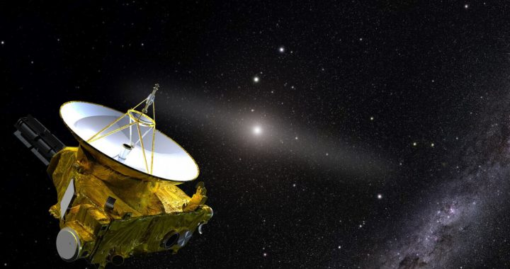 New Horizons reveals how dark space really is