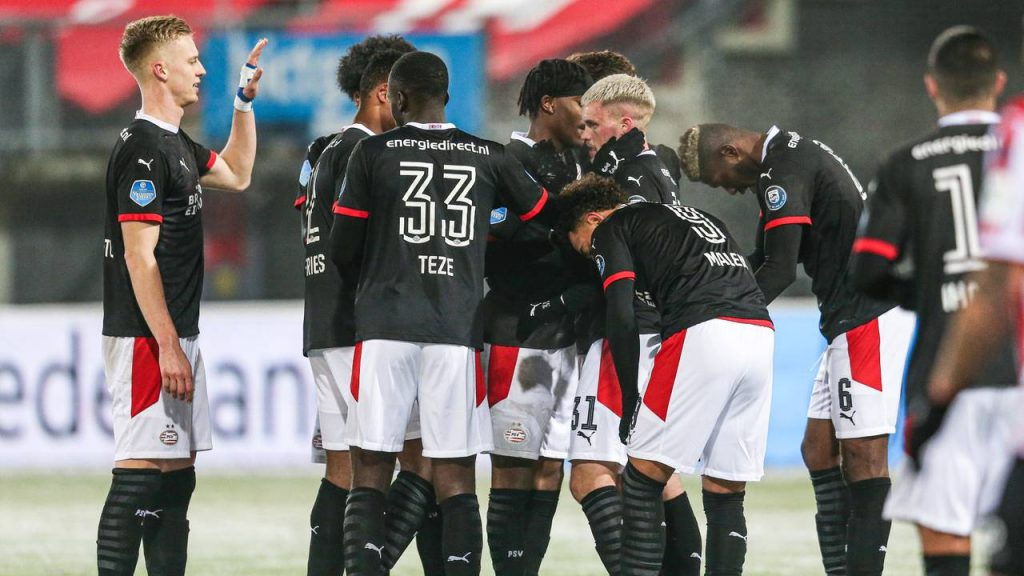 PSV wint met 3-5 van Sparta (foto: ANP).