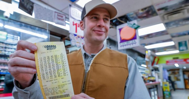 Third largest prize in US history to fall: resident earns $ 1 billion |  NOW