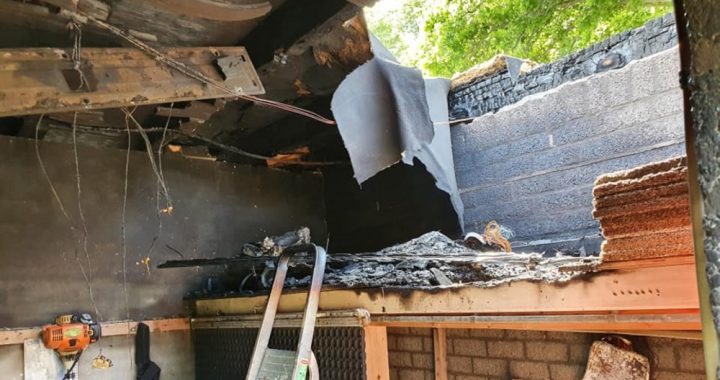 Victoria-O football club arsonist confesses: 5,500 damages for clubhouse restoration