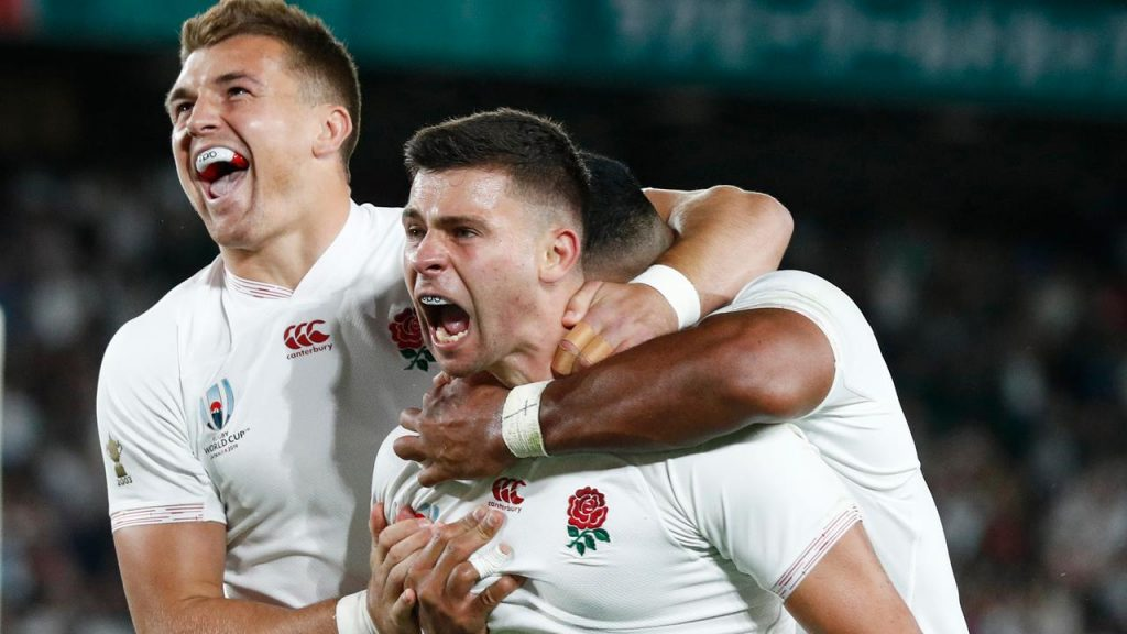 England rugby players end New Zealand hegemony and are World Cup finalists |  NOW