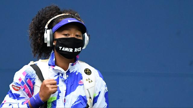 Naomi Osaka wore face masks at the US Open with the names of black Americans who were killed by police brutality.