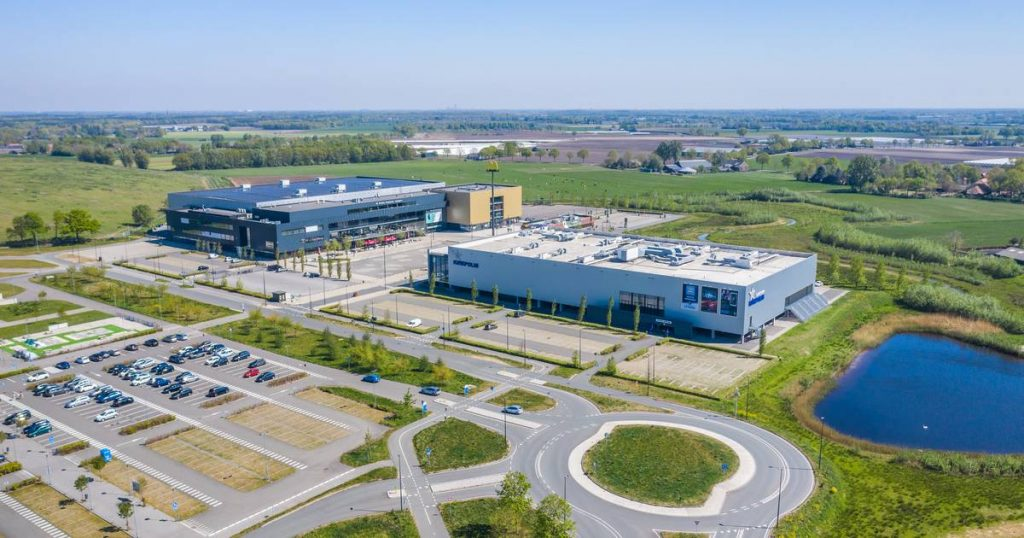 """Breepark Director: """"We have the space here and it is necessary to be a top-notch vaccination site"""" 