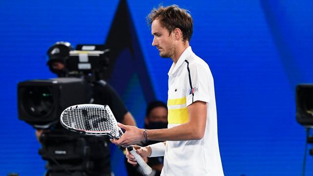 Daniil Medvedev was no match for Novak Djokovic.