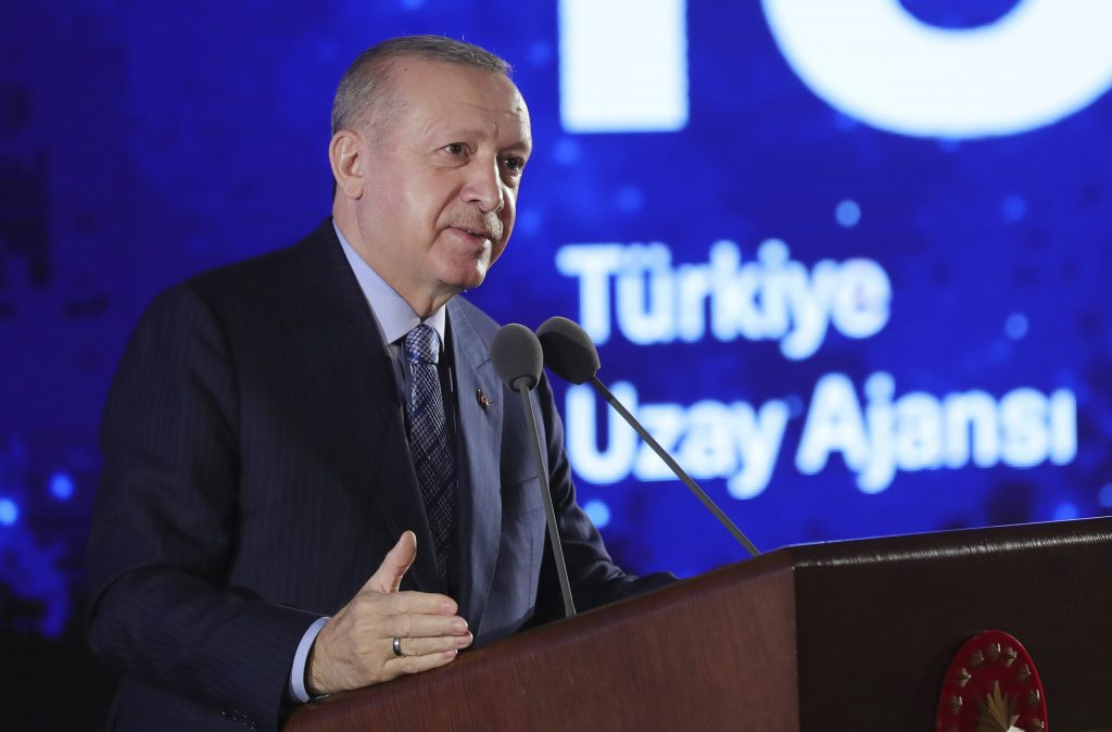 """Erdogan accused the United States of backing """"terrorists"""" in Iraq"""