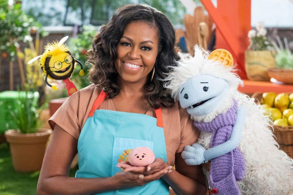 Michelle Obama gets her own kids' show on Netflix