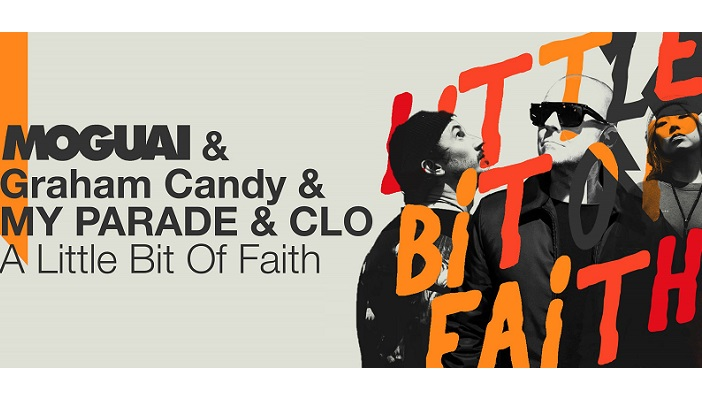 My Parade (Graham Candy) and Moguai bring together 'A little faith'
