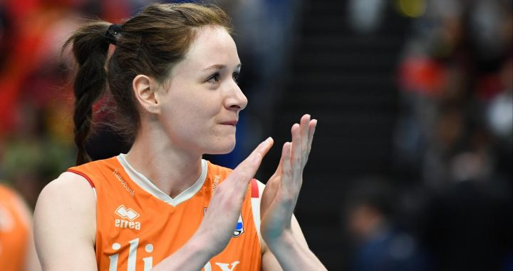 Orange-international Slöetjes (30) finally stops playing volleyball after the break |  NOW