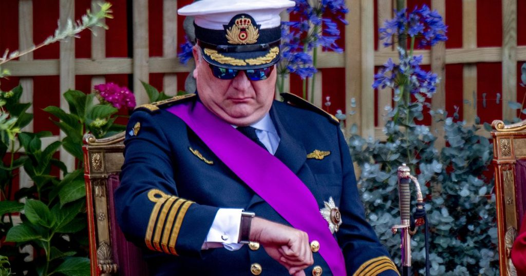 Prince Laurent is still waiting for his 50 million |  Entertainment