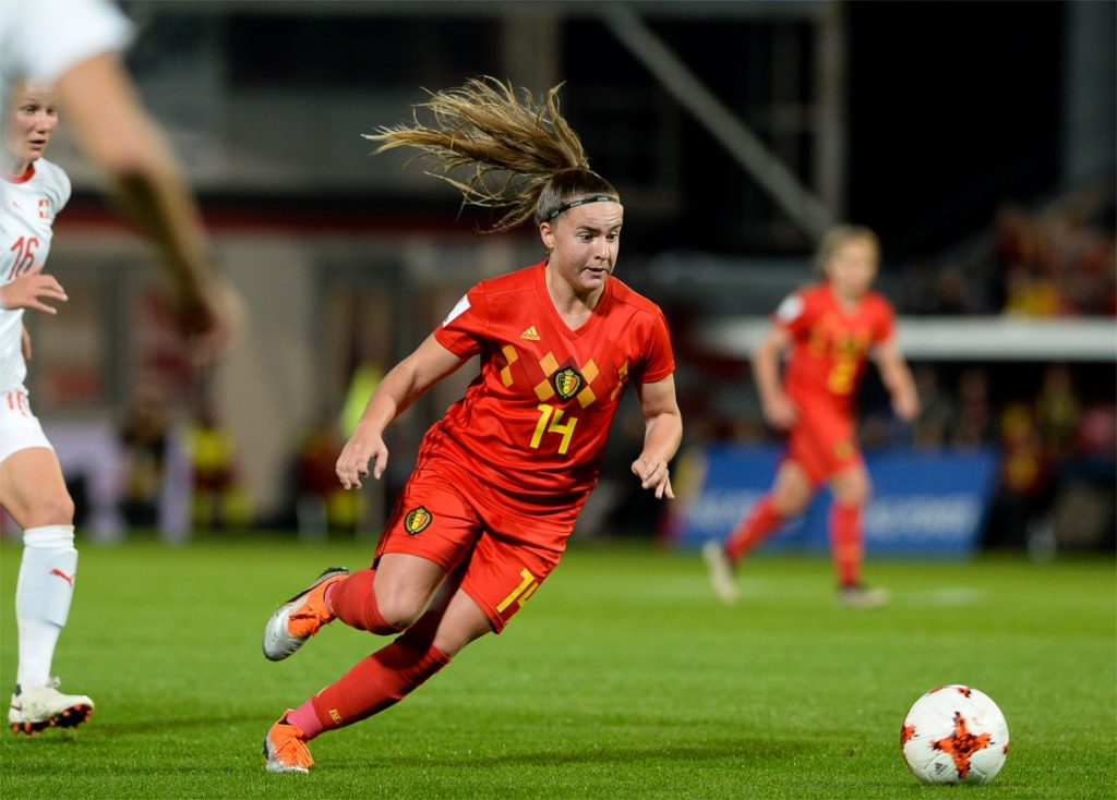 The Red Flames start the Algarve Cup with a loss to Nieuw-Zee ...