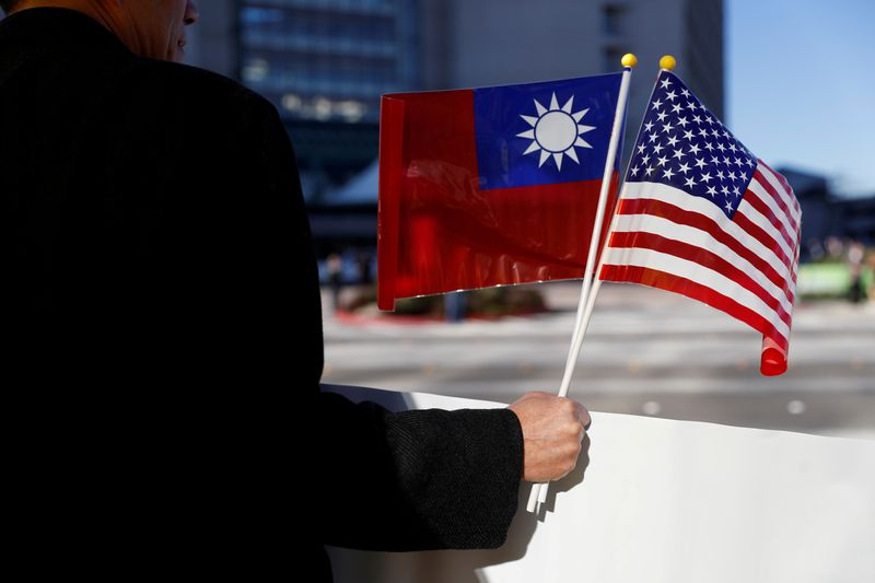 The United States has been conducting Taiwan in the Netherlands during its maiden voyage since the deregulation