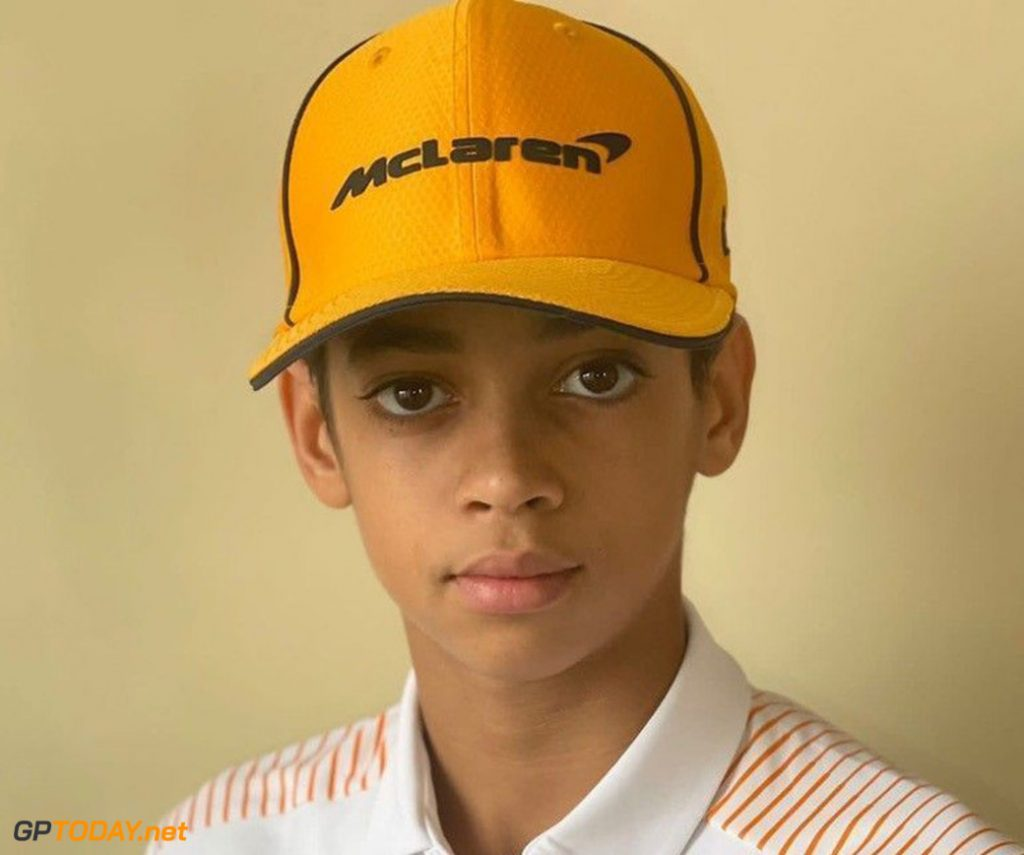 McLaren embarks on 13-year-old karting reveal Ugo Ugochukwu