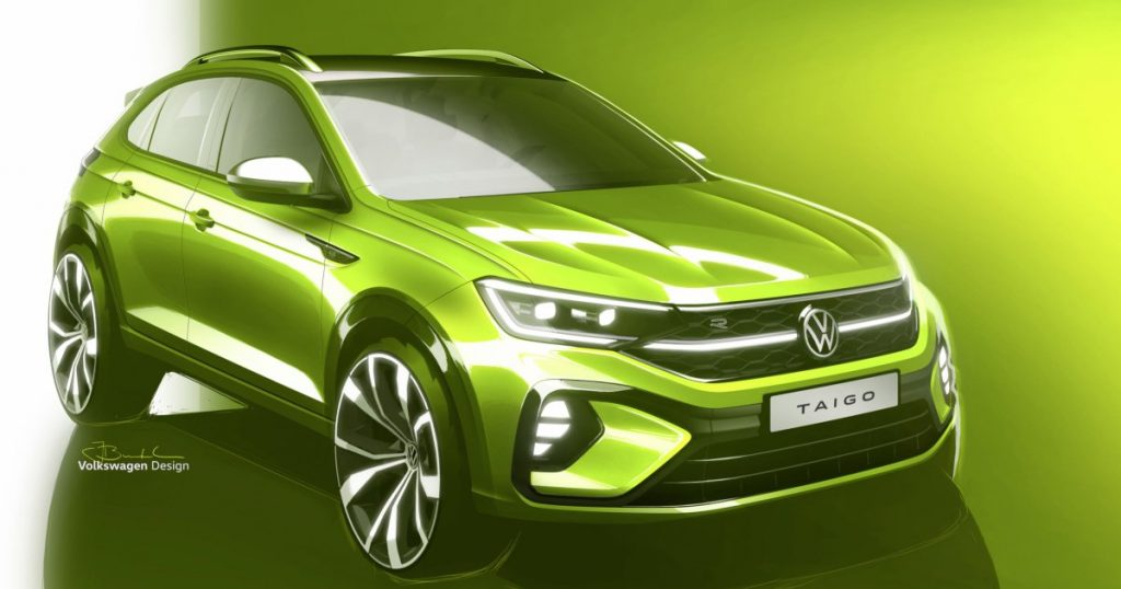 Volkswagen comes with a seventh SUV model: the Volkswagen Taigo
