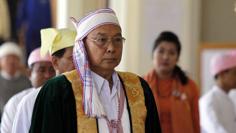 Burmese government secretly makes its voice heard for the first time: promises a revolution
