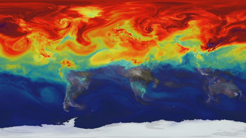 Direct observations now also show that we are shaking our earth's energy budget.