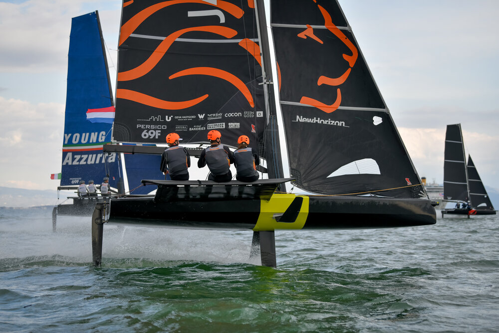 DutchSail team flies to victory in the 69F class
