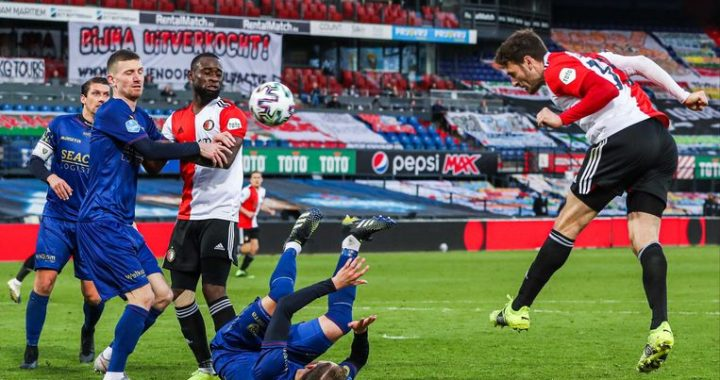 Feyenoord appears to be way too strong for VVV
