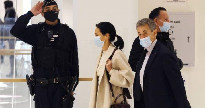Former French President Sarkozy jailed for corruption