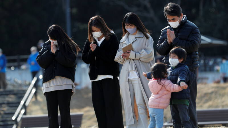 Japan commemorates devastating earthquake: 'after ten years of so much pain'