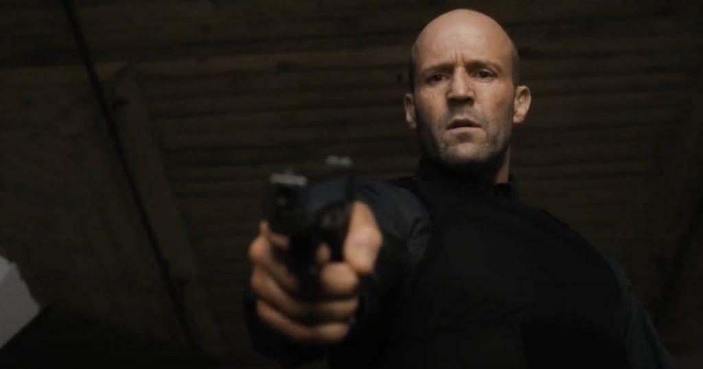 Jason Statham in Cash Truck Hard Trailer