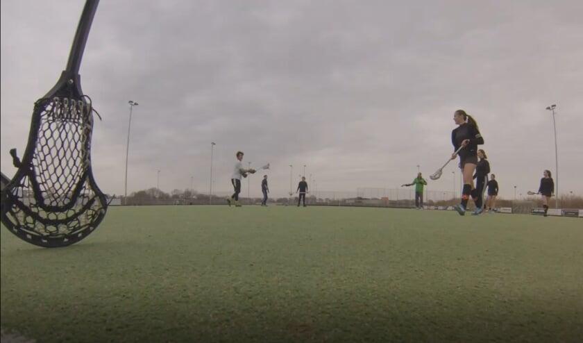 Lacrosse training for HC Walcheren teams