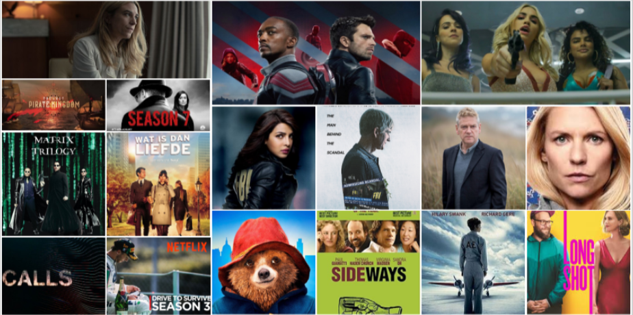 New this week: the debut of `` The Falcon And The Winter Soldier '', `` Sky Rojo '' from the creators of `` La Casa De Papel '' and a strong Flemish fiction with `` Deja-vu ''