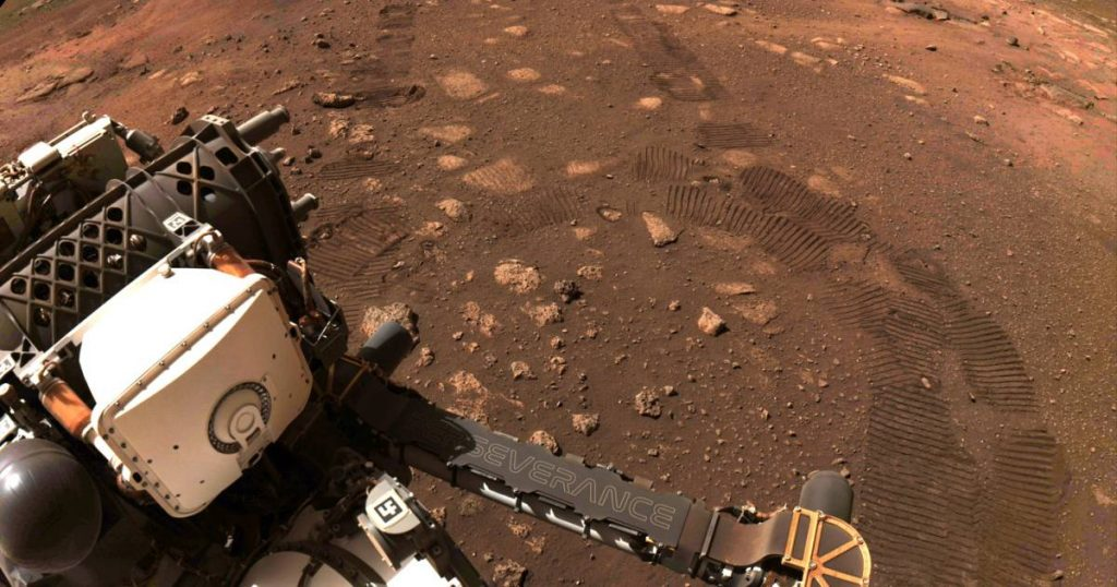 Perseverance takes its first turn on Mars |  Science