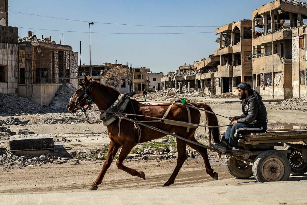 Rest is a concept relating to Raqqa