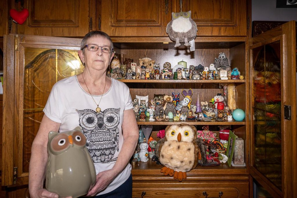 Rita has been collecting owls for over 40 years - KW.be
