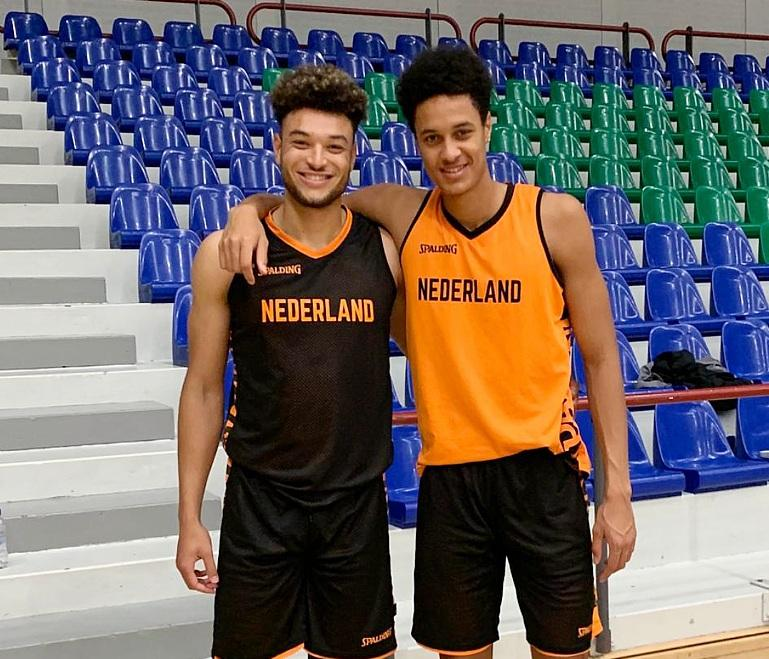 SU Holland basketball center follows brother in sport