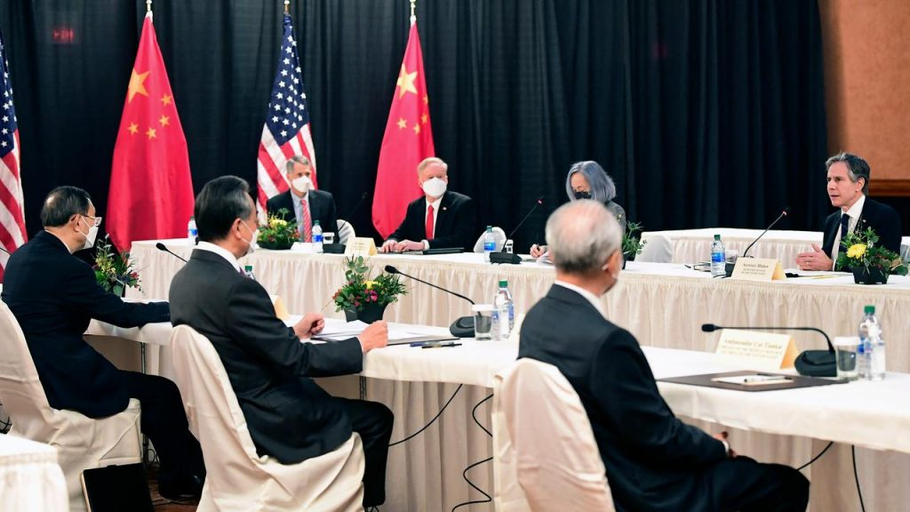 US and China argue at first meeting under Pitan |  Now