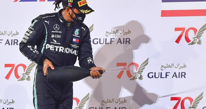 World champion Hamilton has new Formula 1 goal