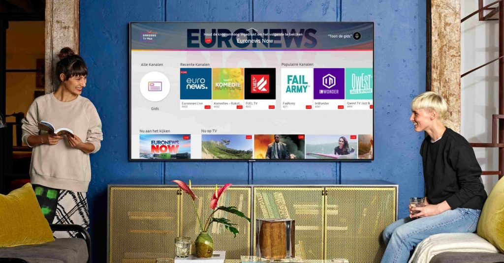 Samsung TV Plus announced: free streaming service for Samsung smart TVs and soon also for Samsung phones