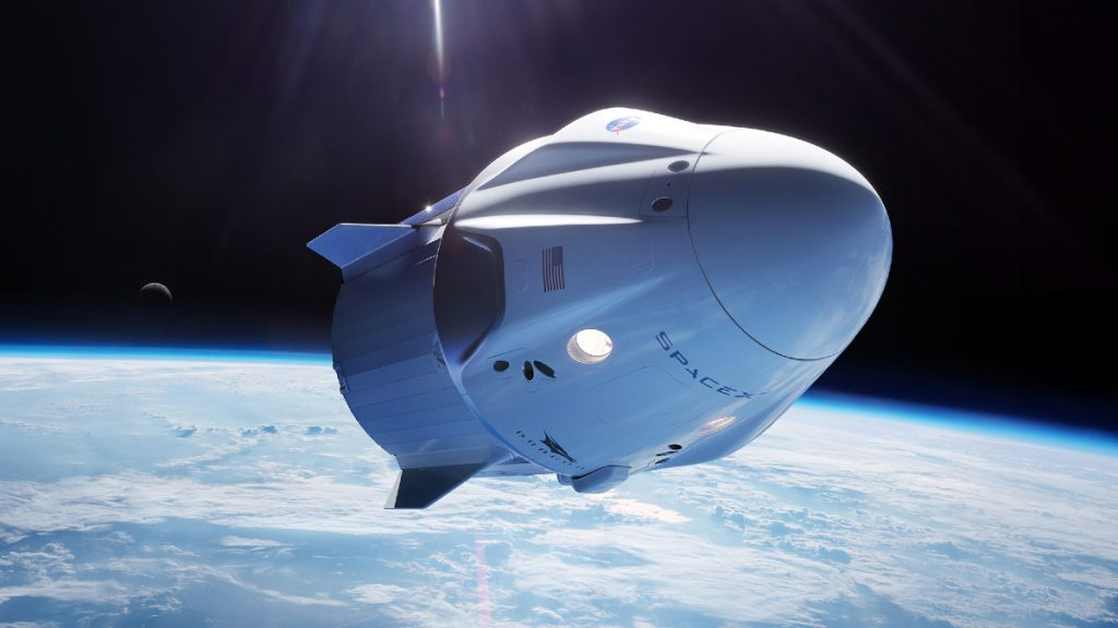 Elon Musk sends people into space with 'SpaceX-occasion'